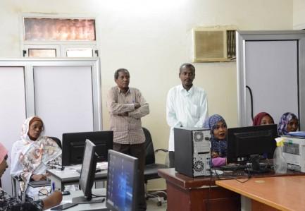 المجلس الأعلى للاستراتيجية والمعلومات يدشن نظام التراسل والأرشفة الاكترونية بمحلية بحري